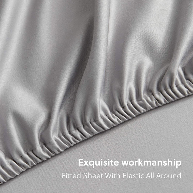 exquisite workmanship- fitted sheet with elastic all around