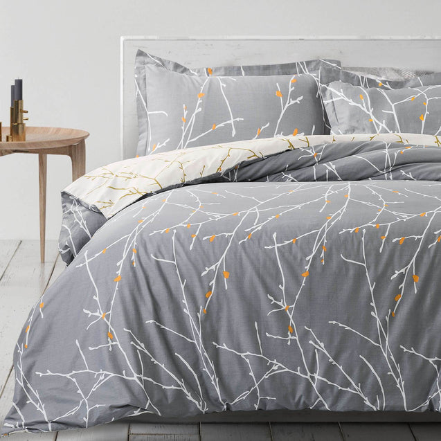 Tree Branch Printed Duvet Cover Set-bedsuredesigns