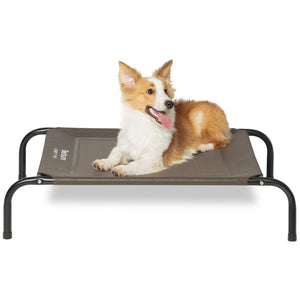 Bedsure Elevated Dog Bed - Brown