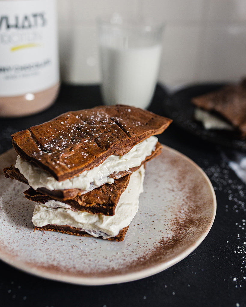 Low Carb Whats Protein Milchschnitte