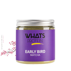 Early Bird Matcha - Whats Protein