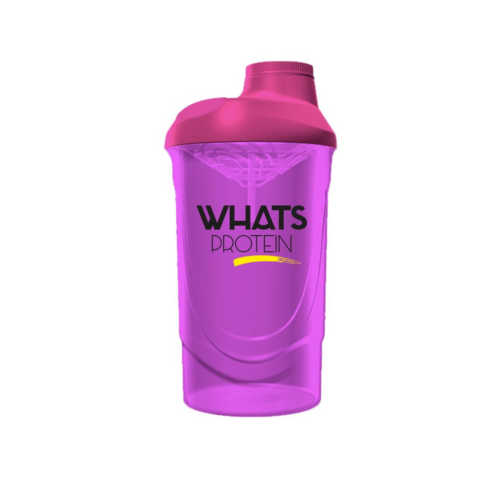 Whats Protein Shaker pink