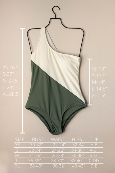One shoulder one piece swimsuit. Cute modest one piece swimsuits.