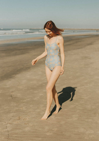 Best cute, modest one-piece swimsuits for girls with longer torsos.