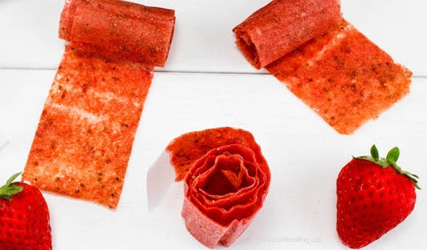 Top 10 Healthy Summer Snacks-Homemade Fruit Rollups