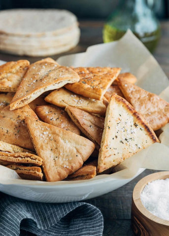 Top 10 Healthy Summer Snacks-Homemade Pita Chips