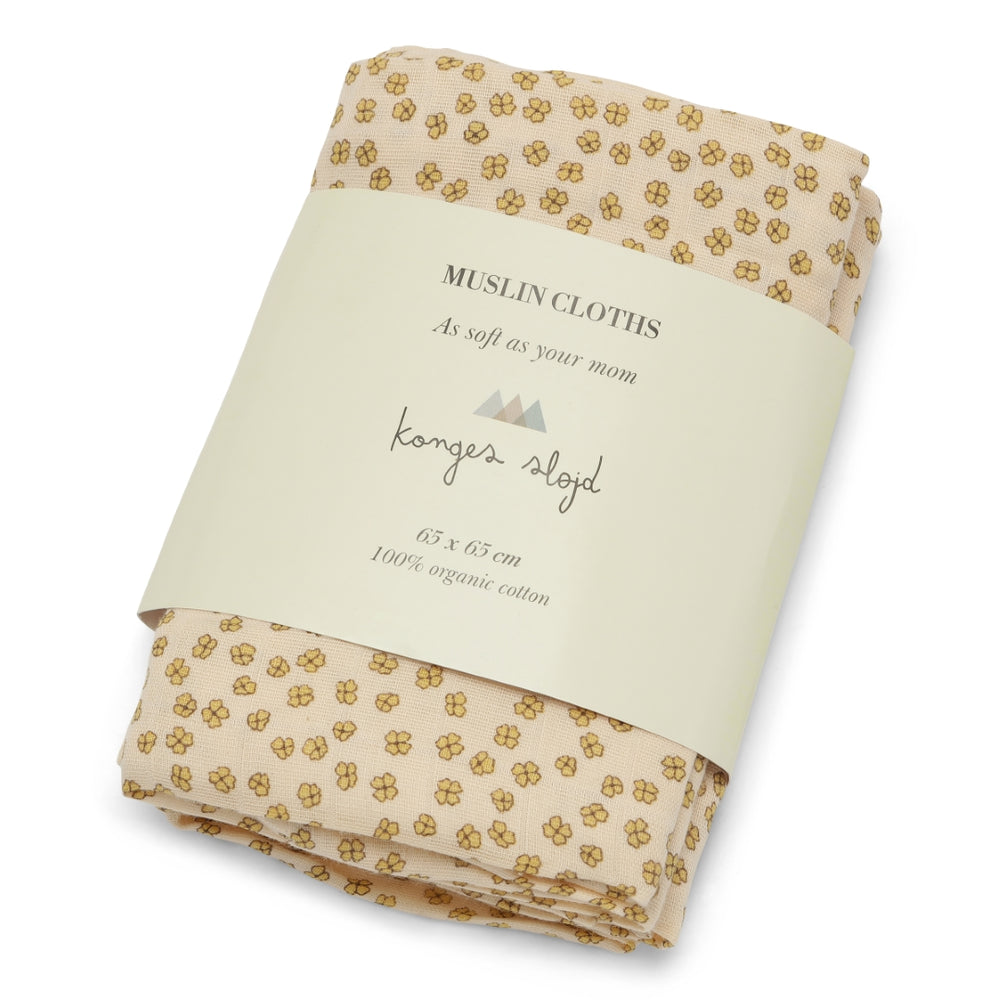 Swaddle | 3-pack buttercup yellow
