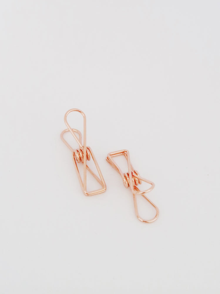 Clip | rose gold