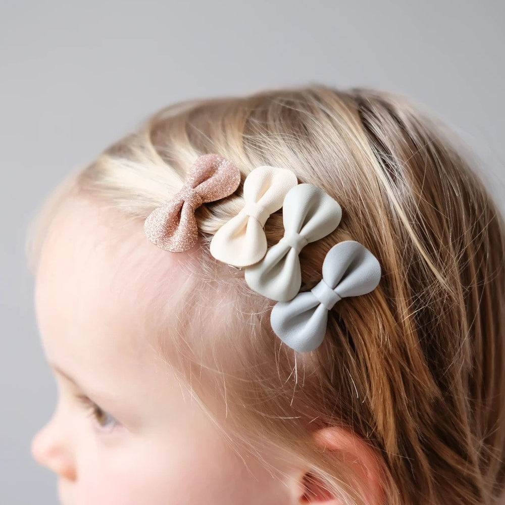 Haarspeldjes | gracie bow clips (4st.)