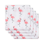Swaddle 70x70 | flamingo (4x)