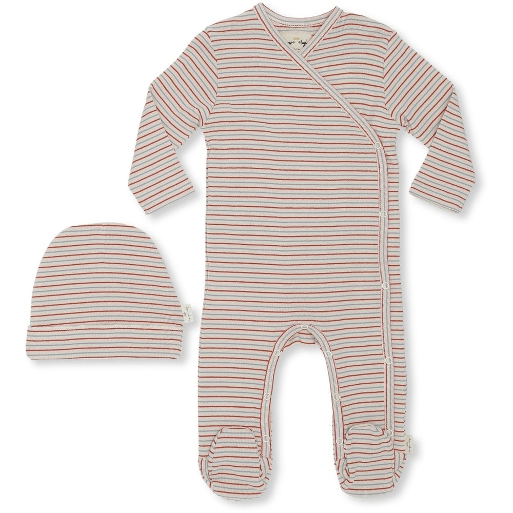 Set newborn | tricolore stribes