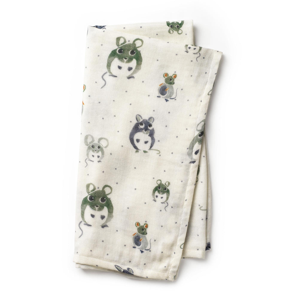 Swaddle | forest mouse
