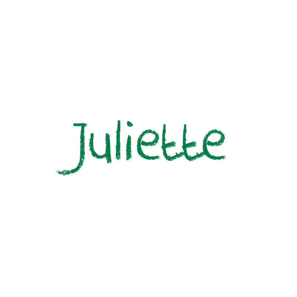 "Sticker | lettertype ""Juliette"""