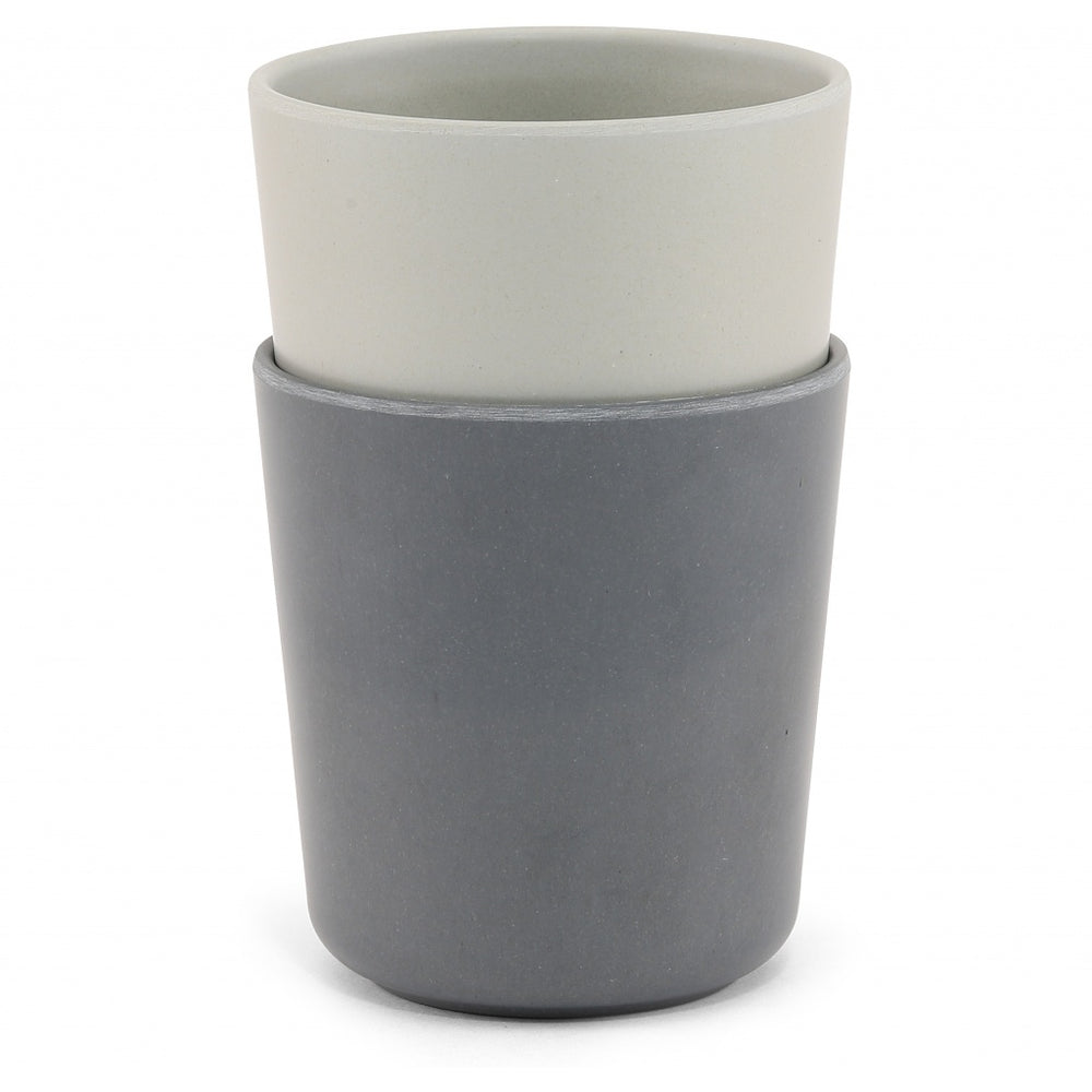 Beker | set van 2 - grey, midnight