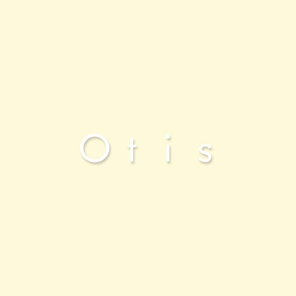 "Sticker | lettertype ""Otis"""