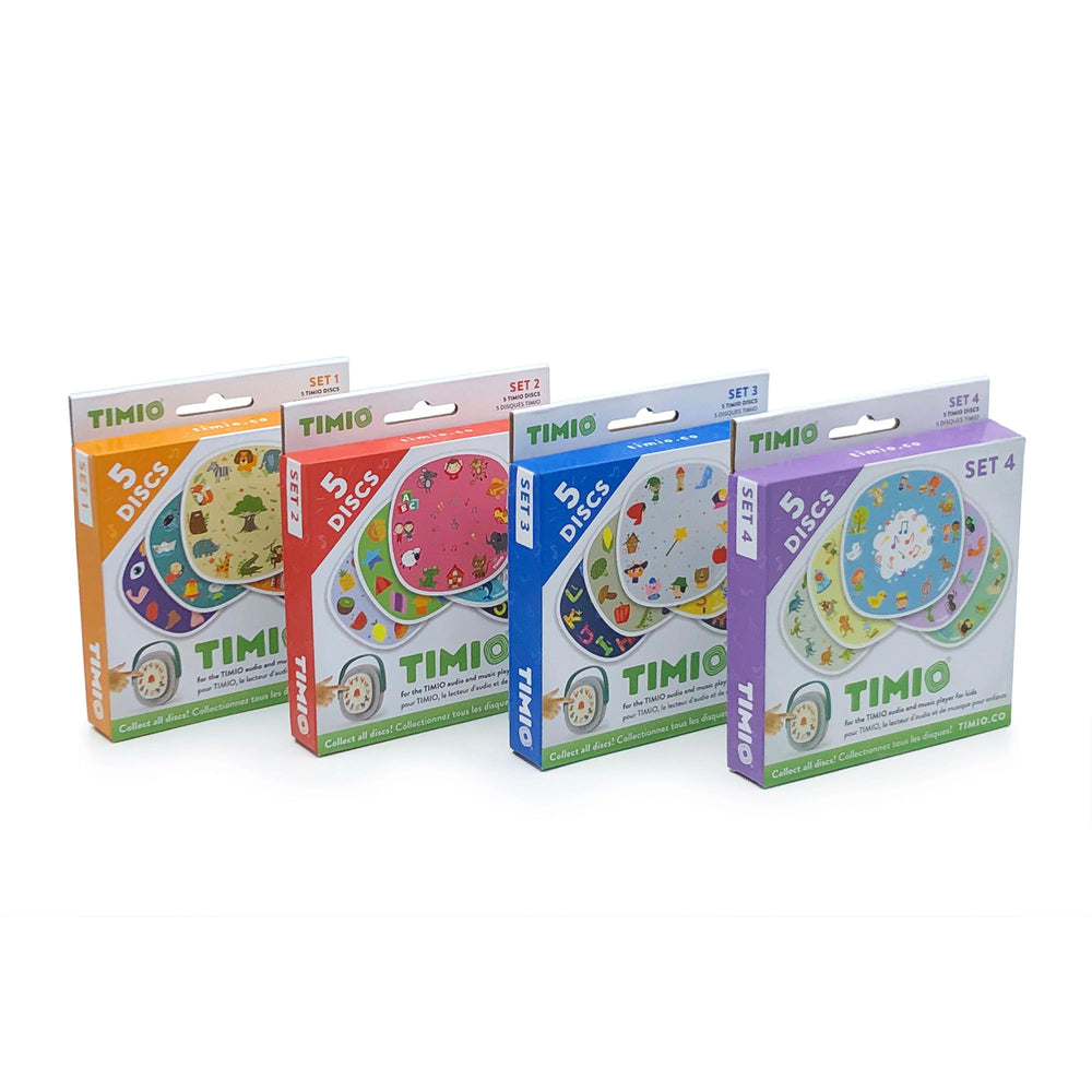 Speelgoed | timio disc pack