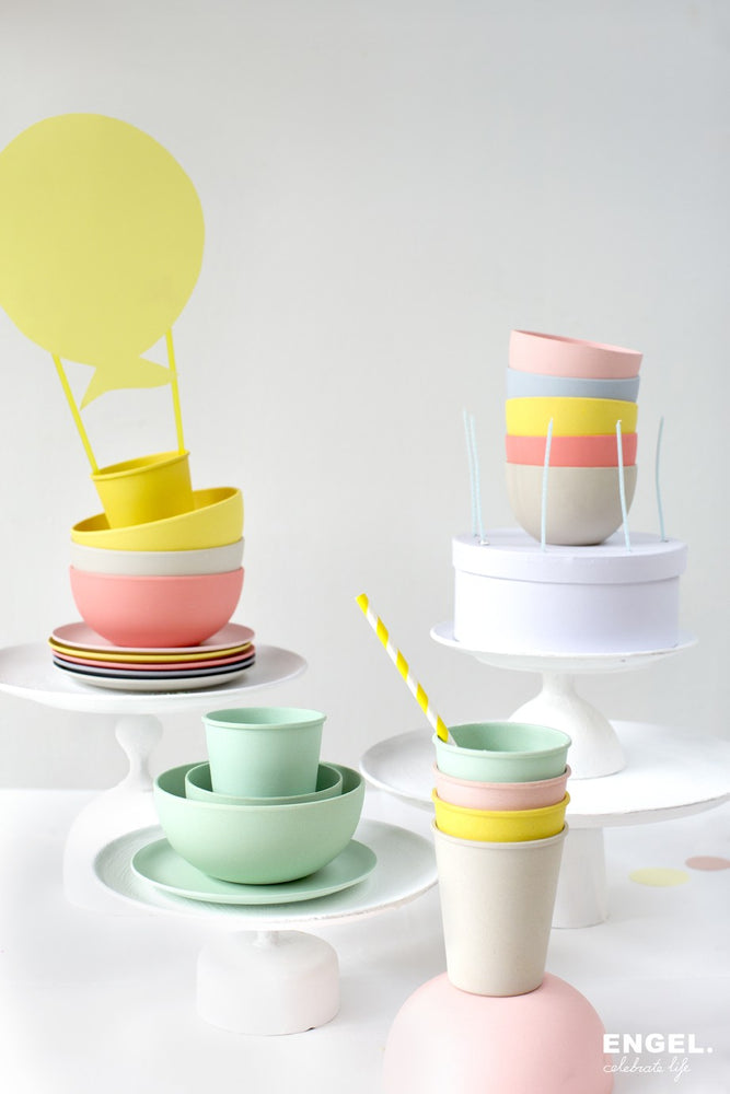 Bordjes | pastel set van 6