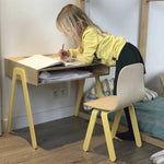 Kinderbureau 2-6 jaar | yellow