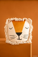 Nobodinoz • Kussen | WILD ANIMALS VELVET CUSHION LION