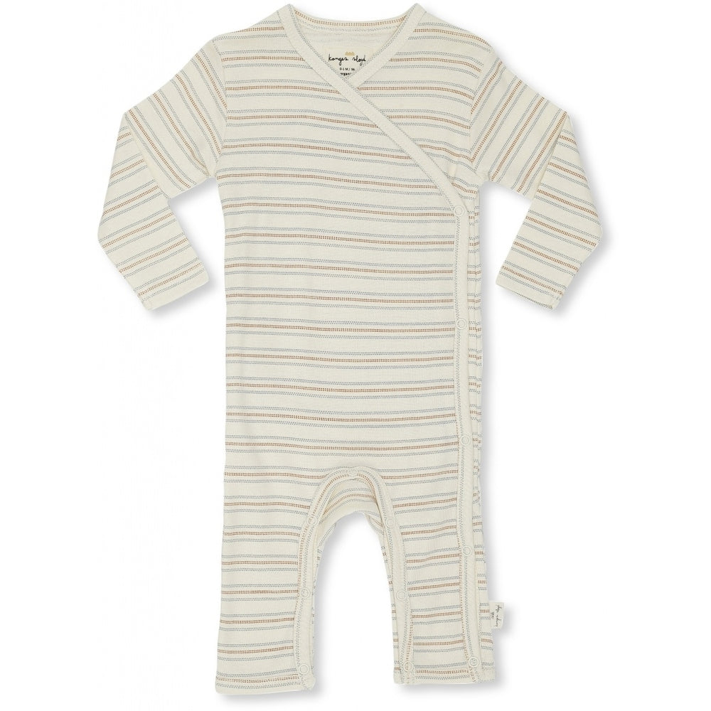 Playsuit newborn | vintage stripe