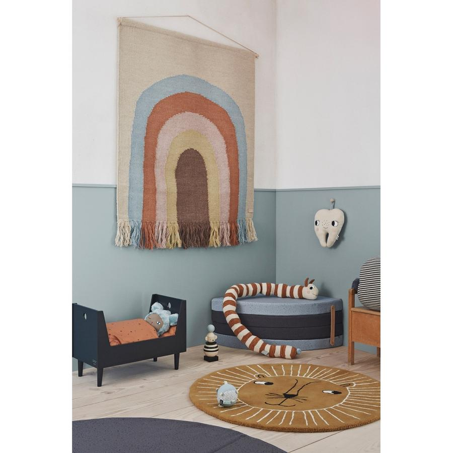 Muurdecoratie | rainbow wall rug