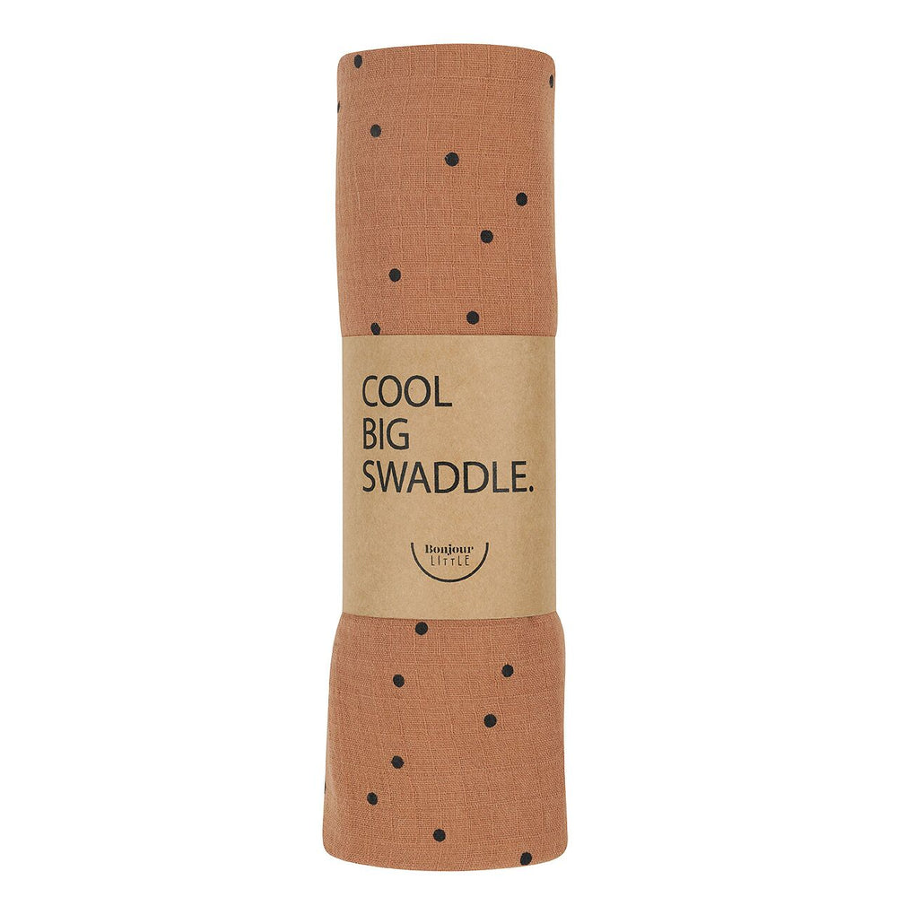Swaddle 120x120 | dots nut
