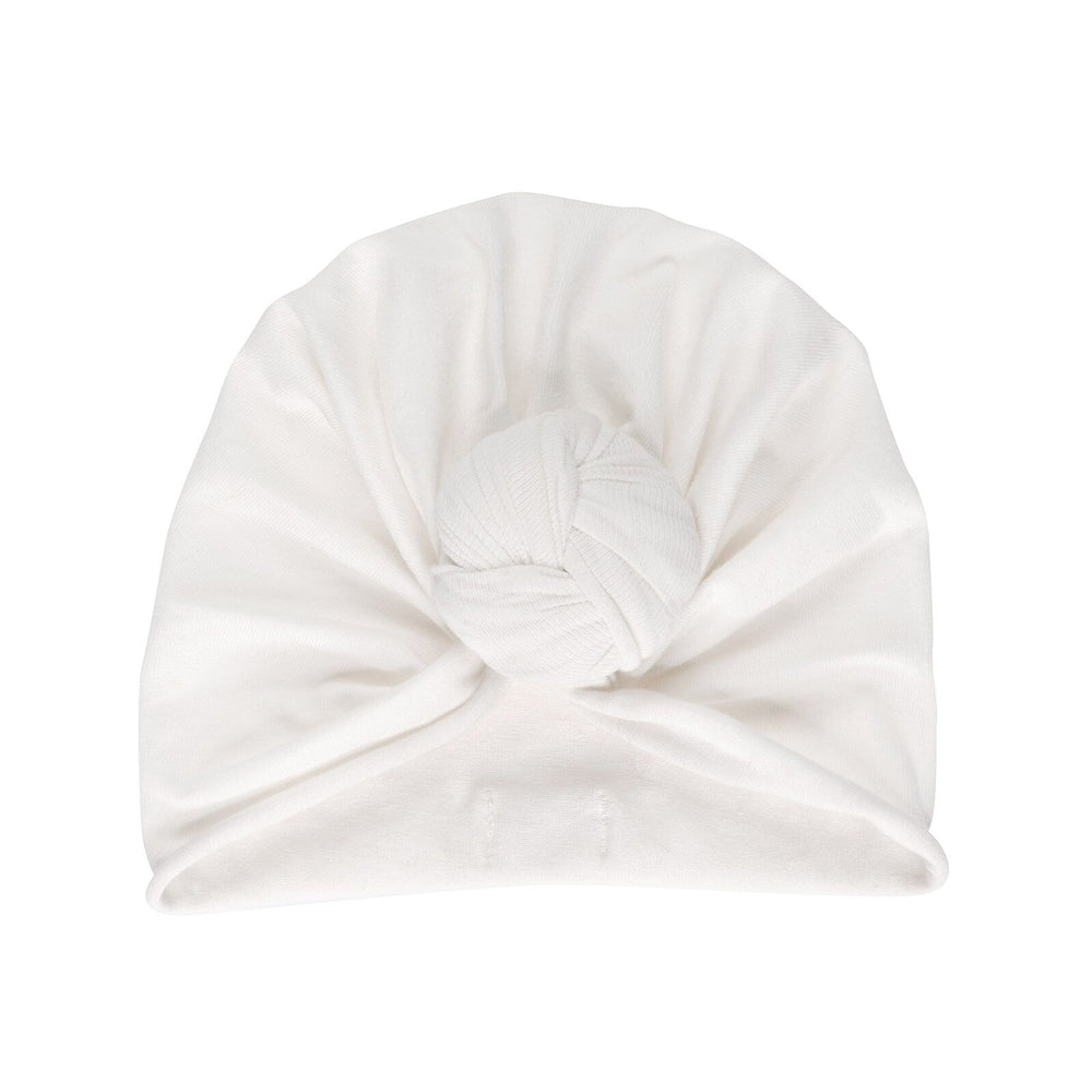 Turban beanie | whipped cream