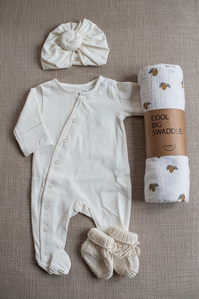 Bonjour Little • Babysuit | whipped cream
