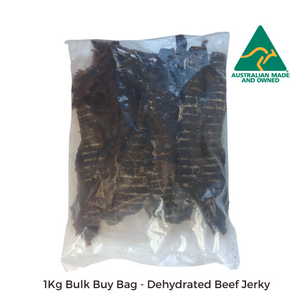 All Natural Dog Treats - Dehydrated Beef Jerky