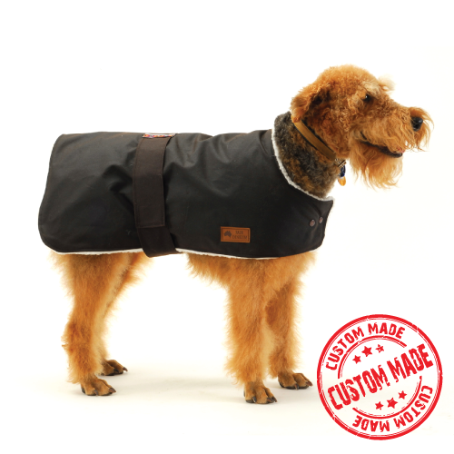 Custom Made - Waterproof Dog Coat - Regular Design