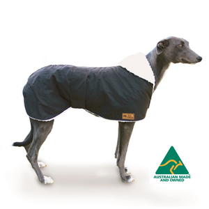 Waterproof Dog Coat -- Greyhound Coat