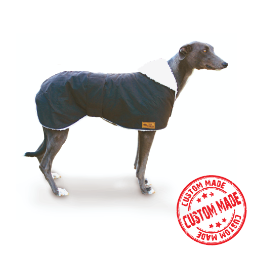 Custom Made - Waterproof Dog Coat - Greyhound Coat