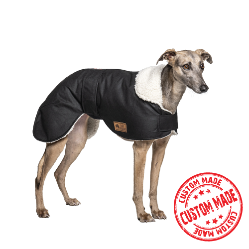 Custom Made - Waterproof Dog Coat - Whippet / Lurcher / Italian Greyhound Coats