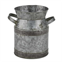 Load image into Gallery viewer, Galvanized Milk Can Utensil Crock