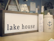 Load image into Gallery viewer, Lake House Custom Sign