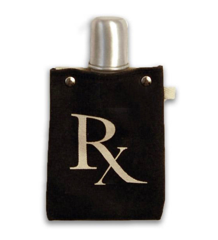 RX - CANVAS FLASK 4 oz 120ML