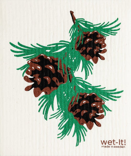 Wet-It Pinecones