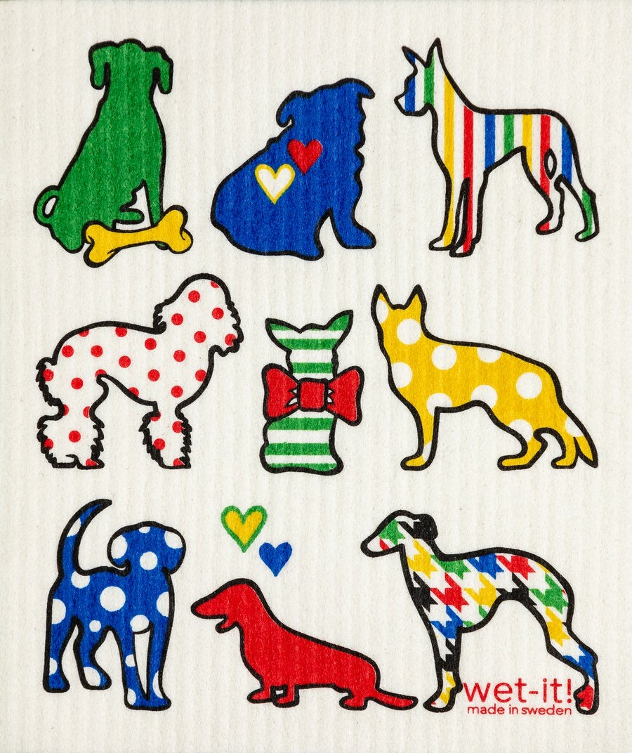 Wet-It Dog Lover Multi Color