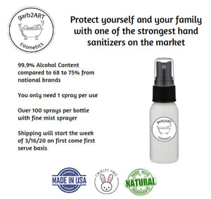 1 oz Sanitizer