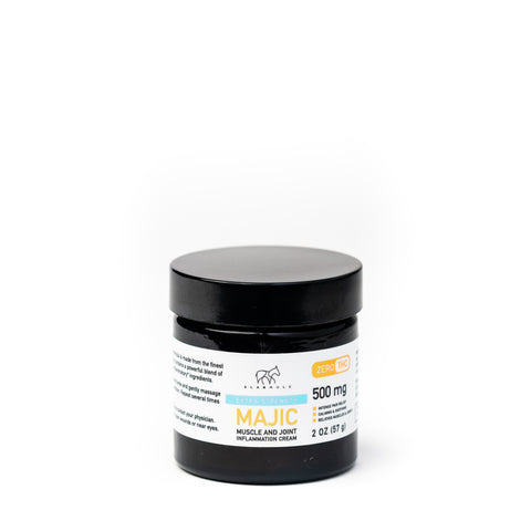MAJIC Regular Strength 2oz. Jar - 500mg CBD