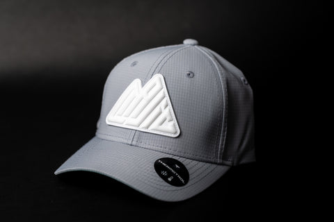 MAJIC Badge Performance Adjustable Cap - Relaxed Fit - GREY