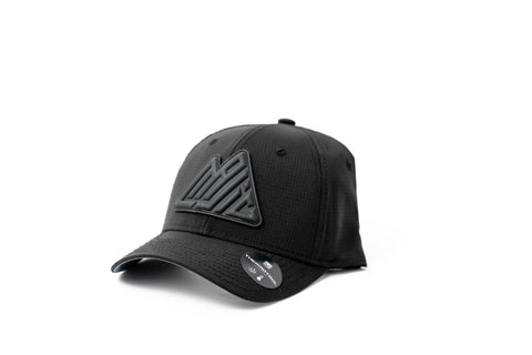 MAJIC Badge Performance Adjustable Cap - Relaxed Fit - BLACK