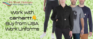 Work with Carhartt, Buy from USA Work Uniforms