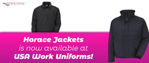 Horace Jackets is now available at USA Work Uniforms!