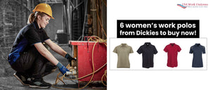 6 women's work polos from Dickies to buy now!