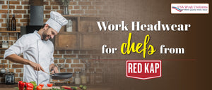 Work Headwear for chefs from Red Kap