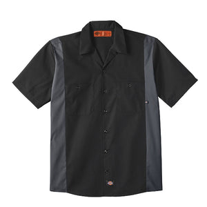 Dickies Industrial Color Block Short Sleeve Shirt (024/LS524)