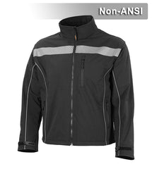 Reflective Apparel Reflective Jacket: Soft Shell: Water Resistant: Form Fitting (VEA-451-CT)