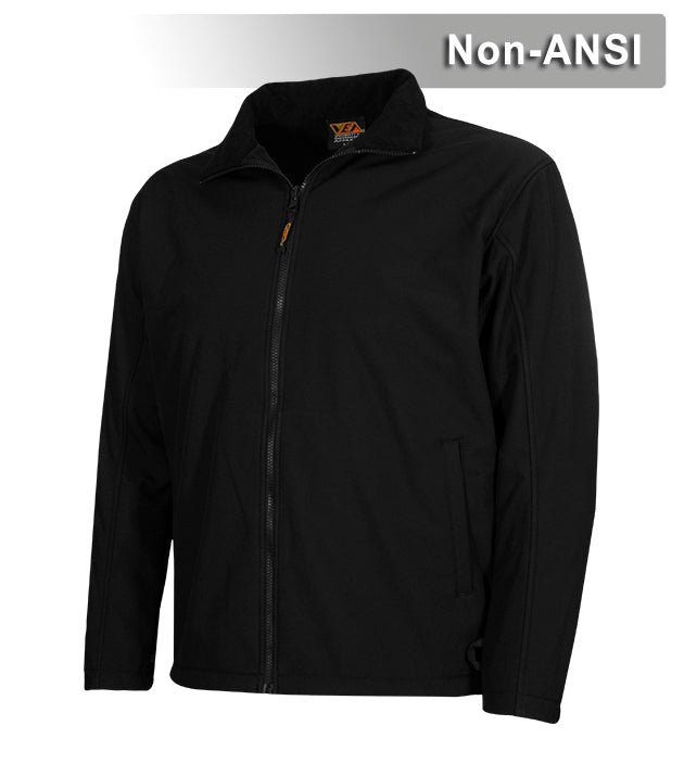 Reflective Apparel Full Zip Waterproof Breathable Softshell Liner: 11.75oz (VEA-625-NT)