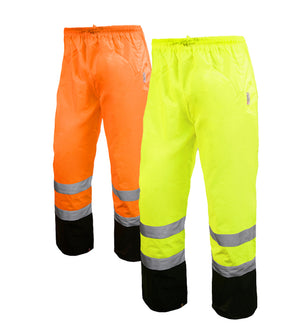 Reflective Apparel Safety Pants: Hi Vis Pants: Breathable Waterproof: ANSI E (VEA-700-ST)-1